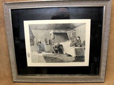 Antiques Fine 1893 Ch Coutry Whipper-in Sounding Paul Tavernier French Lithograph