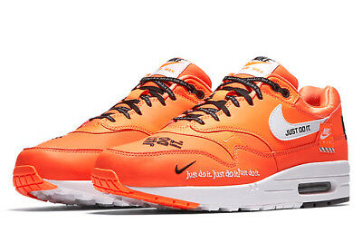 finest selection f2c97 460b8 Nike Air Max 1 SE  Just Do It  AO1021-800 Total Orange