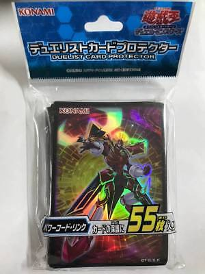 Yugioh Official Card Sleeve Protector Powercode Link (55 Sleeves) Japanese