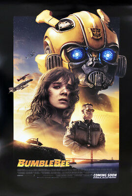 BUMBLEBEE MOVIE POSTER 2 Sided ORIGINAL INTL FINAL 27x40 TRANSFORMERS JOHN CENA