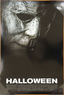 HALLOWEEN MOVIE POSTER 2 Sided ORIGINAL FINAL 2018 27x40 MICHAEL MYERS