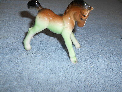 Ceramic Colt - Japan - Brown / Black / Green