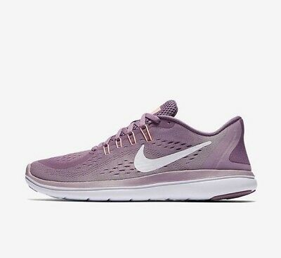 f439b9b5646b0 Nike Flex 2017 RN 898476-500 Violet Purple White Plum Women s Running Shoes  ...