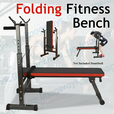 Multi-Station Weight Bench Press Fitness Weights Equipment Incline Home Gym