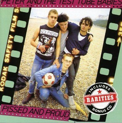 Peter And The Test Tube Babies - P**sed And Proud [CD]