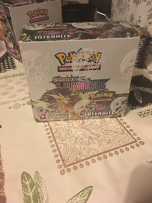 Display Pokemon SL6 scellé officiel 36 boosters