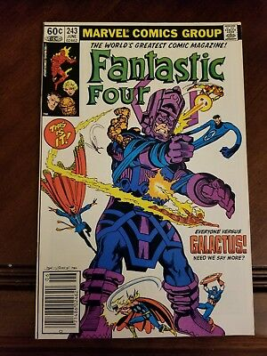 Fantastic Four #243 WPC VF/NM