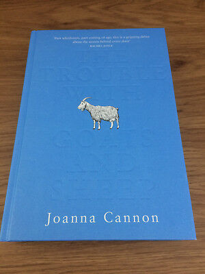 THE TROUBLE WITH GOATS AND SHEEP Joanna Cannon SIGNED 1st - 1st NEW Hardback
