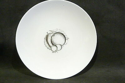 SUSIE COOPER BLACK FRUITS  DINNER  PLATE 26 cm CHERRY