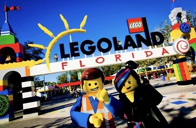 LEGOLAND FLORIDA COUPON PROMO SAVE $215 FOR FAMILY of 4 ~ $35 Ticket ~ FAST DEL!