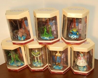 Lot 7 Disney Store Tiny Kingdom Toy Story Figurines MIB Woody, Buzz, BoPeep +