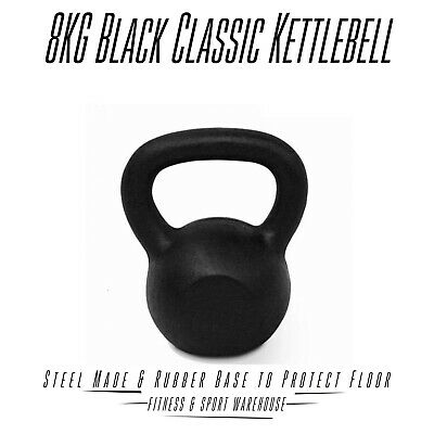 NEW Classic Kettlebell 8KG  Russian Style Fitness Strength Training Equipment