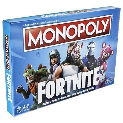 Monopoly Fortnite Edition Board Game Inspired by Fortnite Video Game Hasbro NEW