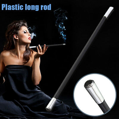 Women's Long Series Retractable Vintage Cigarette Holder Smoking Smoke Pipe