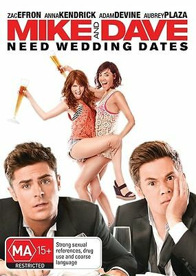 Mike And Dave Need Wedding Dates (DVD, 2016)