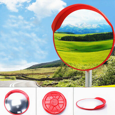 Wide Angle Security Convex Mirror Road Traffic Driveway Safety Indoor Outdoor