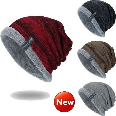 78cc753af79194 Women Men Knitted Winter Warm Oversized Ski Slouch Hat Cap Baggy Beanies  Fashion