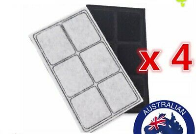 4x Replacement Carbon Filter for Petsafe Drinkwell Water Fountain PAC00-13192