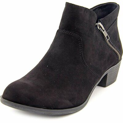 AR35 Abby Side Zip Short Ankle Boots - Black, 7.5 US