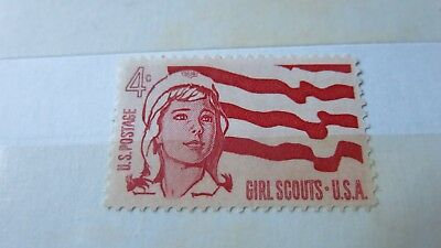 1962 UNITED STATES  4c Girl Scouts Stamp MNH