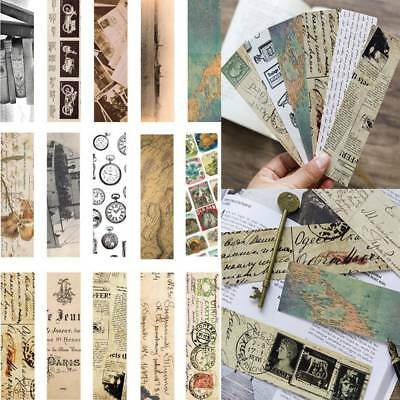 30Pcs/set Retro Style Collection Bookmark Paper Bookmarks Film Bookmark Gifts