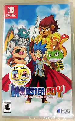 Monster Boy and the Cursed Kingdom Launch Edition (Nintendo Switch)