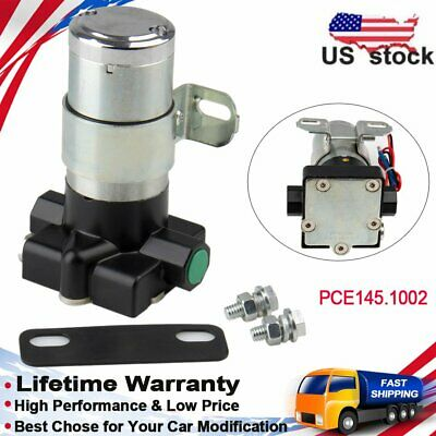 Super Performance Electric Fuel Pump 95GPH 7 PSI 3//8/'/' NPT Inlet//Out w//Regulator