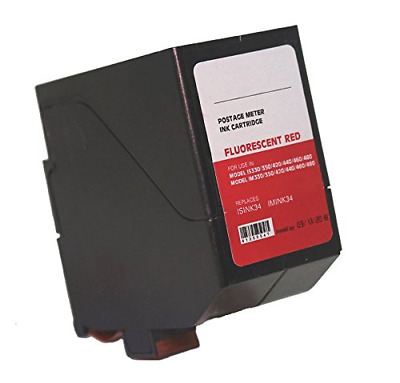 Neopost ISINK34 - 90 Day Warranty - Compatible Surejet #4135554T Red Ink for IS