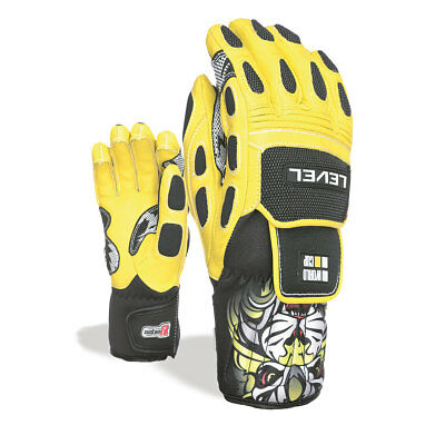 LEVEL Glove Worldcup JR CF [4108JG.07] yellow