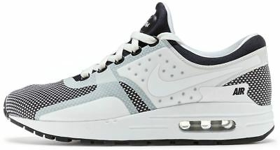 outlet store 69b7e edad1 Nike Air Max Zero Essentiel Gs Baskets Noir, Loup Gris   Blanc 881224 001