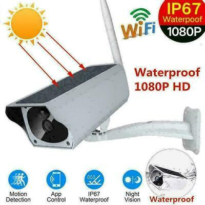 Outdoor Solar Power IP HD Camera Wireless Wifi Surveillance Camera Night Vision