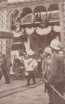 Reprint Photo : THAILAND SIAM 1909 VIEW RELATIVE TO THE FEASTS OF THE KING