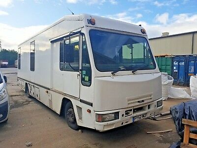 Iveco-Ford Ex Mobile Library Van IDEAL PROJECT