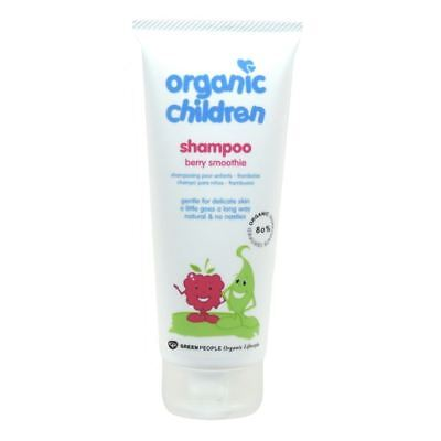 Green People Childrens Berry Smoothie Shampoo [200ml] x 7 Pack