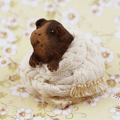 Guinea Pig Figurine/ ornament - COCOA by Forever Home Studios.