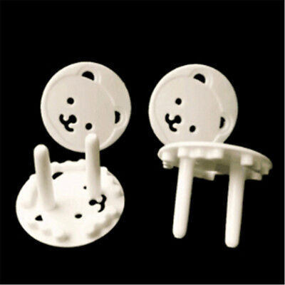 20pcs Baby Kids Electric Socket Outlet Safety Protection Safe Lock Cover Plug RA