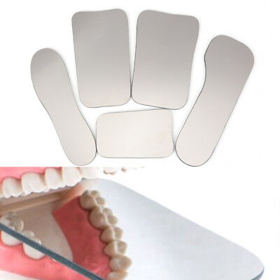 Dental Orthodontic Photo Mirror Intra Oral Mouth Mirrors Glass Reflector LU