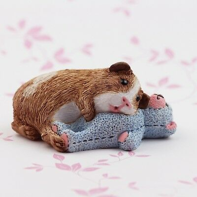 Guinea Pig Figurine or ornament - Bearhugs Bertie by Forever Home Studios.