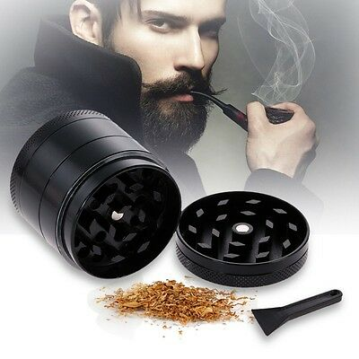BRAND NEW 4 Layers Alloy Metal Tobacco Crusher Hand Smoking Grinder Herb Spice