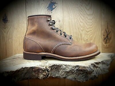 RED WING // Blacksmith 3343 Copper // Mens leather Boots // FREE MINK OIL