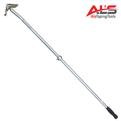 "Platinum Drywall Tools 2.5"" Drywall Corner Flusher / Glazer W/ Handle"