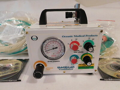 New Oceanic Medical Magellan MRI Portable Pneumatic Powered Ventilator