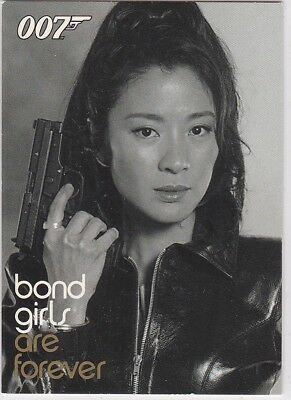 James Bond Women Of In Motion Bond Girls Are Forever Bg18 Michelle Yeoh Wai Lin