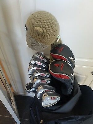 Superb Set Of Jack Nicklaus Co2 Golf Clubs, Plus Head Covers, Right Handed
