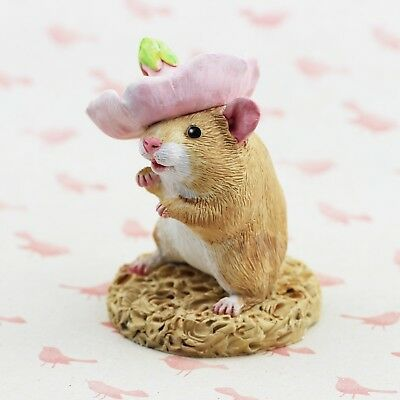Hamster Figurine or Ornament - PETAL by Forever Home Studios.