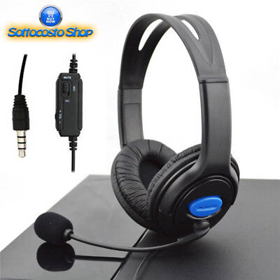Cuffie Ps4 E Xbox One Con Microfono Universali Gaming Headset Professionale