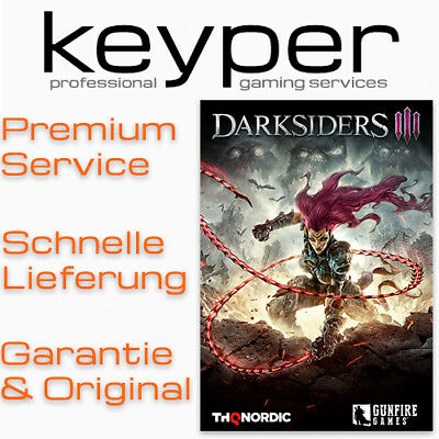 Darksiders III 3 STEAM KEY [Deutsch/Multi12] PC Neu Download Code