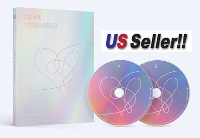 BTS Love yourself結'Answer' 4th Album Random 2CD+Book+Card+Folded Poster