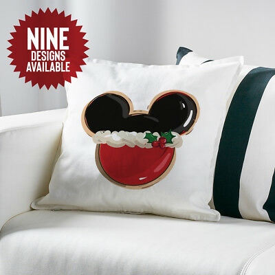 Mickey Mouse Inspired Christmas Disney Cushion Cover Gift Xmas Minnie