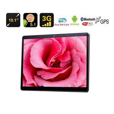 10.1 Inch 4G + 64G Android 7.0 Dual SIM &Camera GPS Phone Wifi Phablet Tablet DF